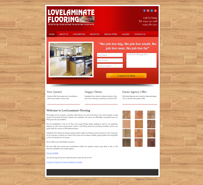 Love Laminate Flooring