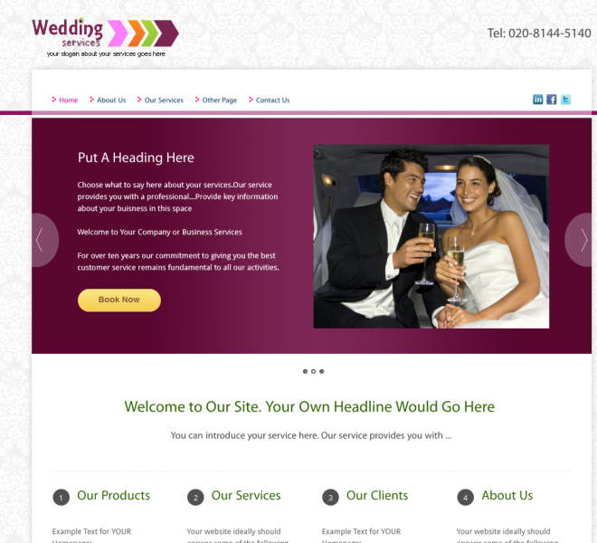 Wedding Services